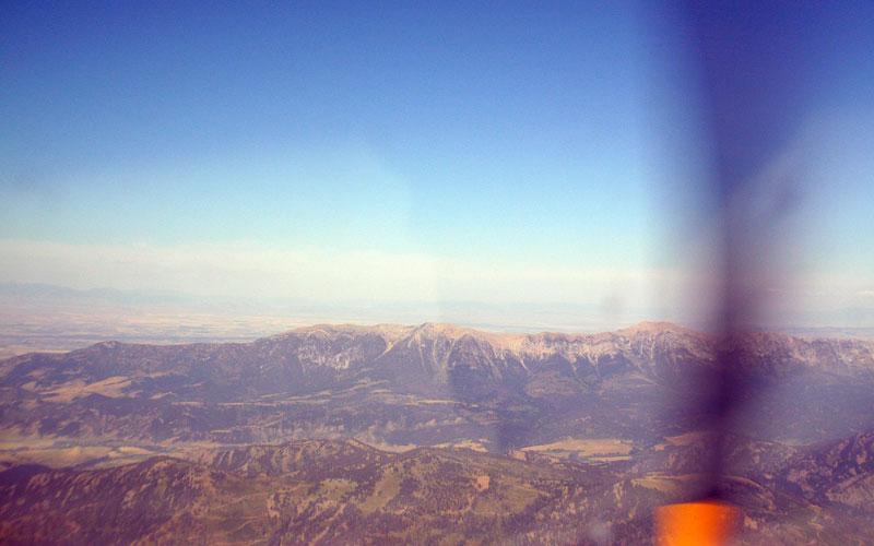 Baldy Mountain and Saddle Peak