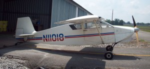 Wittman Tailwind Passenger Side