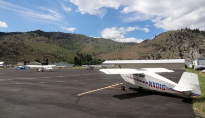 Lake Chelan airport parking